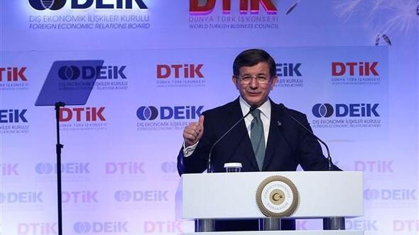 Başbakan Davutoğlundan yeni anayasa ve başkanlık sistemi açıklamaları