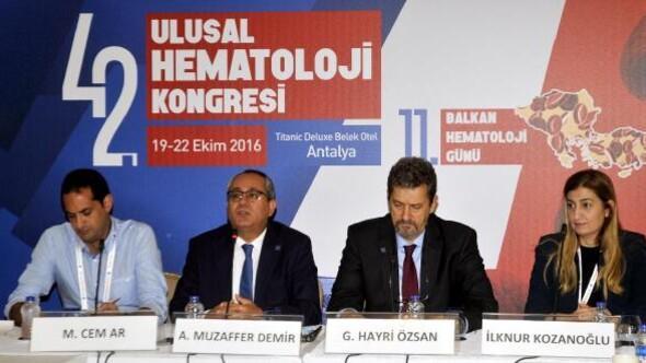 Ulusal Hematoloji Kongresi Belekte yapıldı