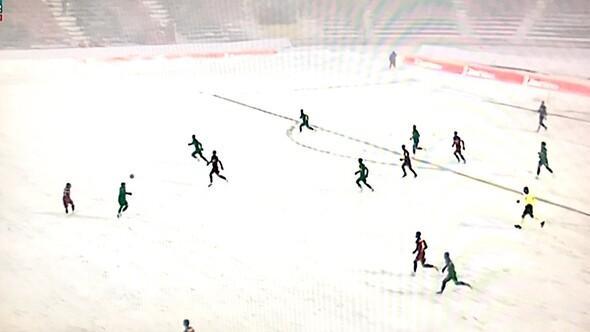 Gaziantepspor-Kırklarelispor maçında zor anlar