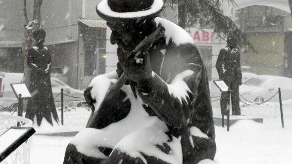 fotoğraf// İstanbulda kar yağışı etkili oluyor