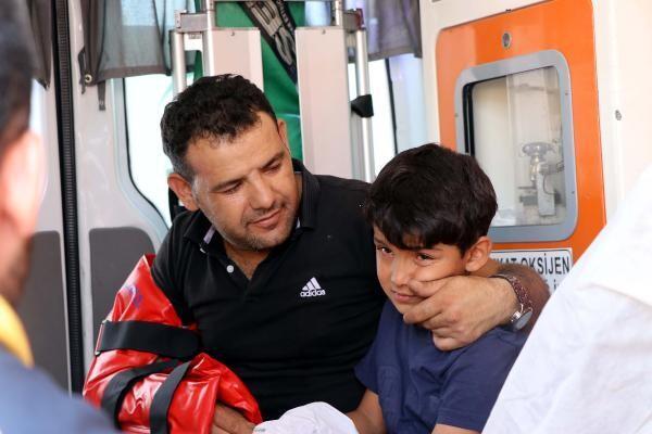 Gaziantep'te piknik yolunda kaza: 5'i çocuk 10 yaralı