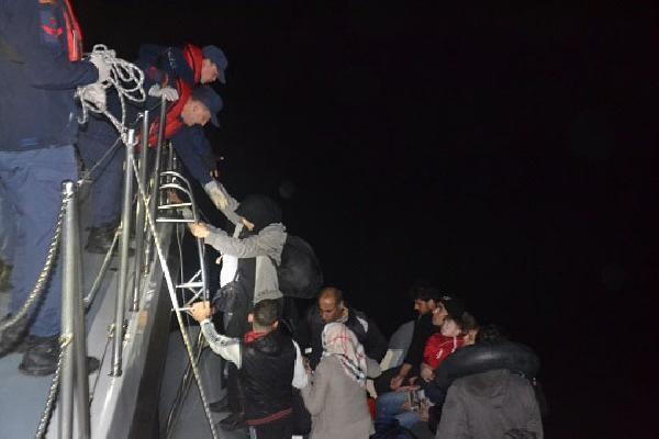 Didim ve Kuşadası'nda 93 kaçak göçmen yakalandı