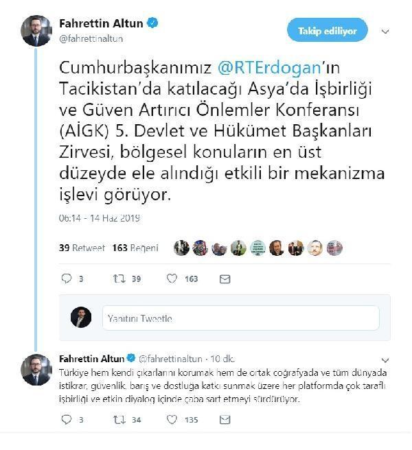 Cumhurbaşkanı Erdoğan AİGK zirvesine katılacak