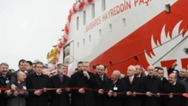 Barbaros Hayreddin Paşa göreve başladı