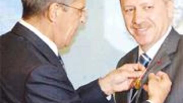 Putin'den Tatar madalyası