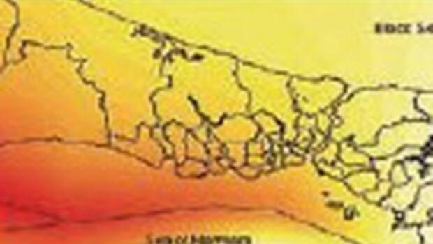 Amerikan uydusundan İstanbul depremi