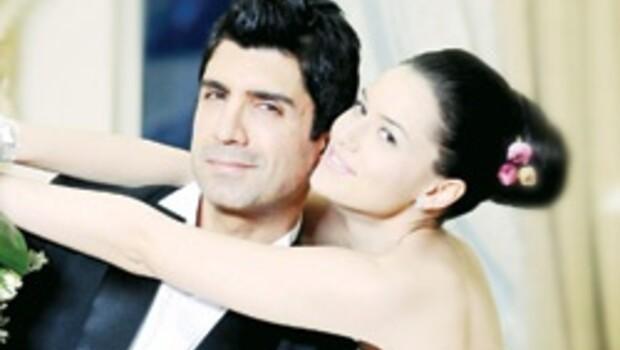 Özcan ve Fahriye evlendi