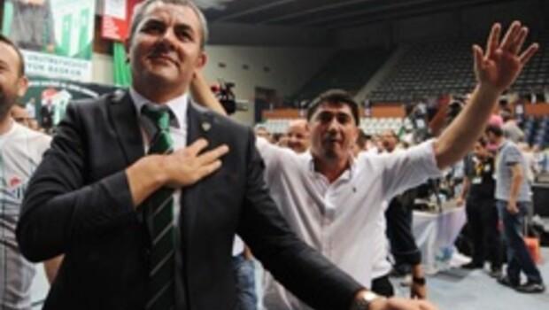 Bursa'nın yeni başkanı Erkan Körüstan