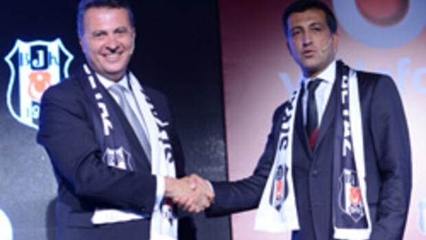 Beşiktaş ile Vodafonedan dev ortaklık