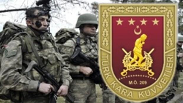 Kara Kuvvetleri Komutanlığından uzman çavuş ilanı