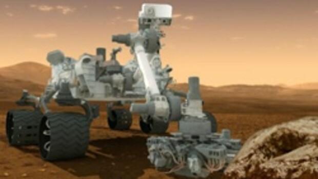 Curiosity sağ salim Mars'a indi
