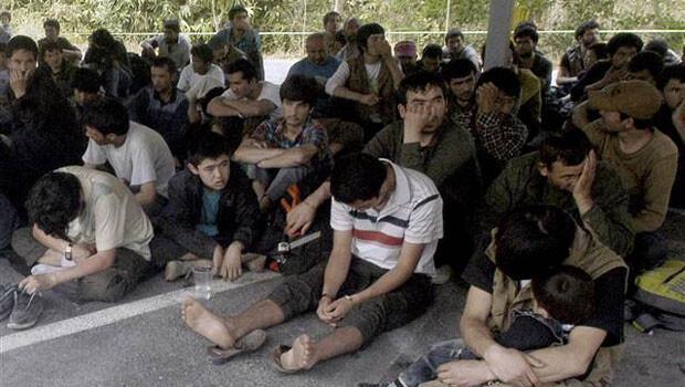 Tayland'da 220 Uygur Türkü gözaltına alındı