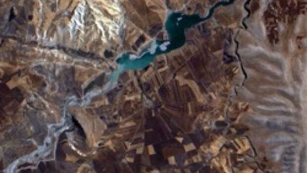 Türk uydusunun uzaydan çektiği ilk görüntüler