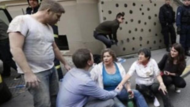 Prag'da patlama: En az 55 yaralı