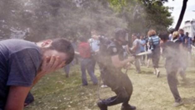 Anadolu Ajansı Gezi Parkı'nı görmedi