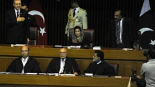 Başbakan Erdoğan Pakistan parlamentosunda konuştu