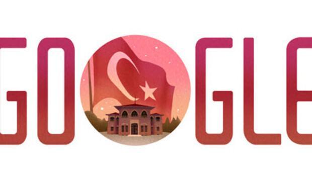 Googledan 29 Ekim Cumhuriyet Bayramı doodleı