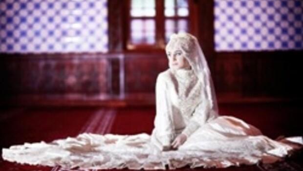 Camide düğün fotoğrafı