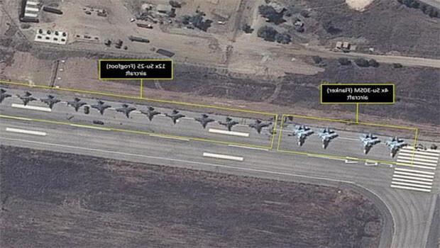 Muhalifler, Rus havaalanına topla saldırdı