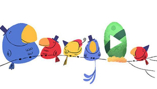 Google yılbaşına (2016'ya) girdi bile!