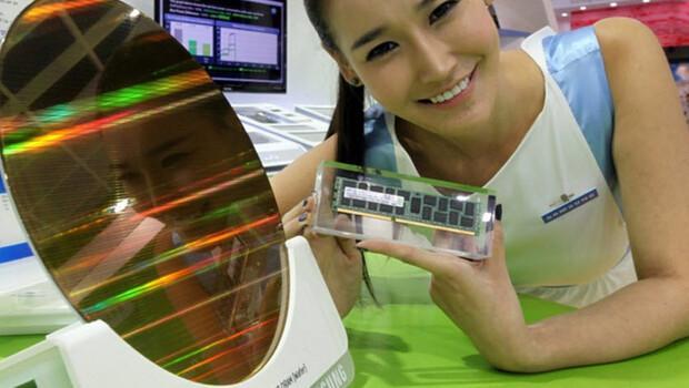 Samsung'dan 18nm'lik RAM