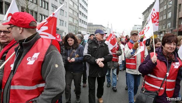 Berlinli öğretmenler ay sonu greve gidiyor