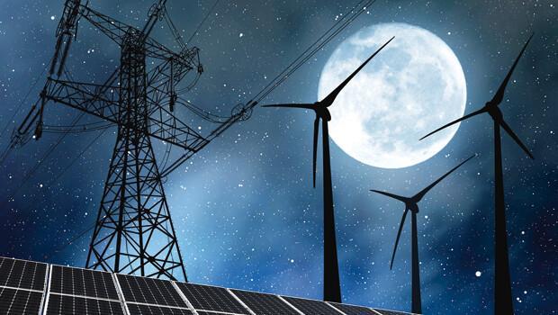 Ay'dan elektrik
