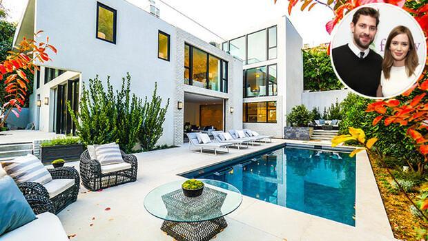 Emily Blunt ve John Krasinskinin muhteşem evi satılıyor
