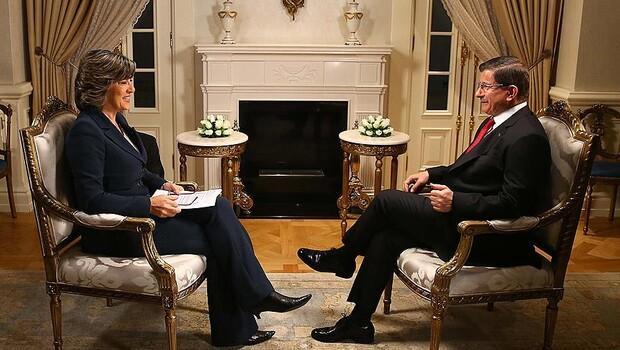 Davutoğlu CNN'e konuştu