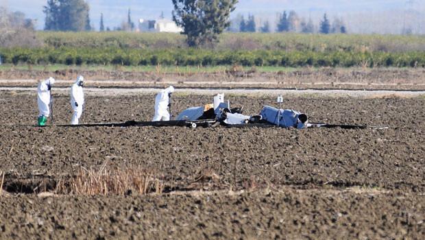 Adana'da ABD'nin insansız hava aracı düştü