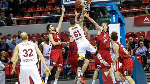 CAI Zaragoza: 85 - Galatasaray Odeabank: 68