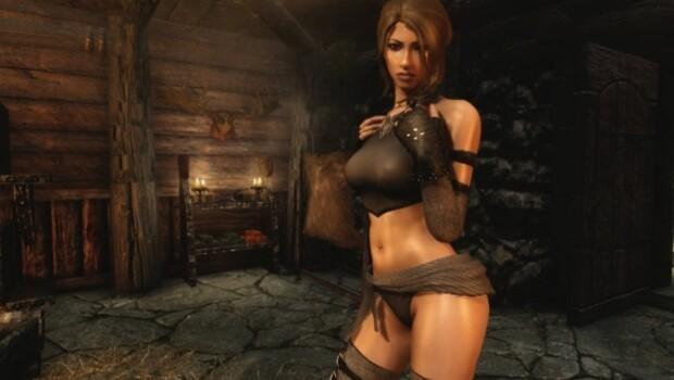 The Elder Scrolls V: Skyrim'de porno çekiyorlar