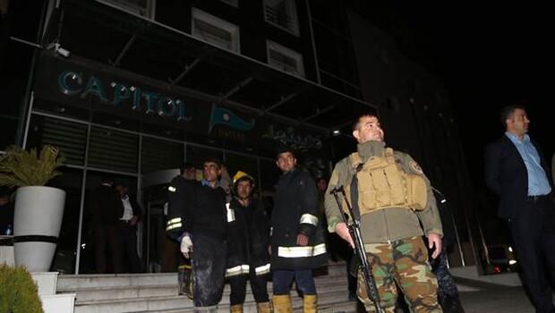 Erbilde otel yangını faciası: 19 ölü