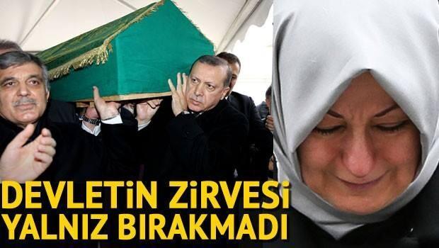 Abdullah Gül'ün kayınpederi Ahmet Özyurt son yolculuğuna uğurlandı
