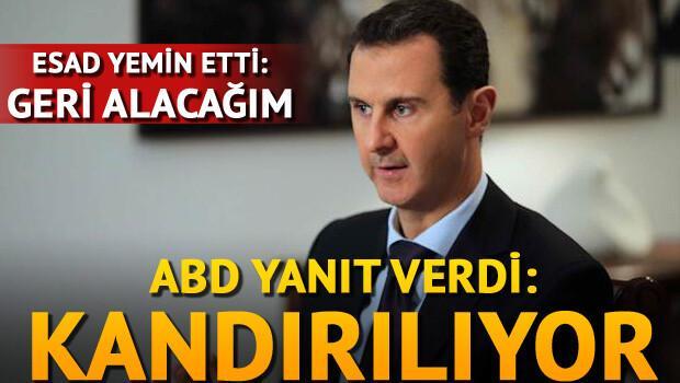 ABD'den Esad'a cevap: Kandırılıyor