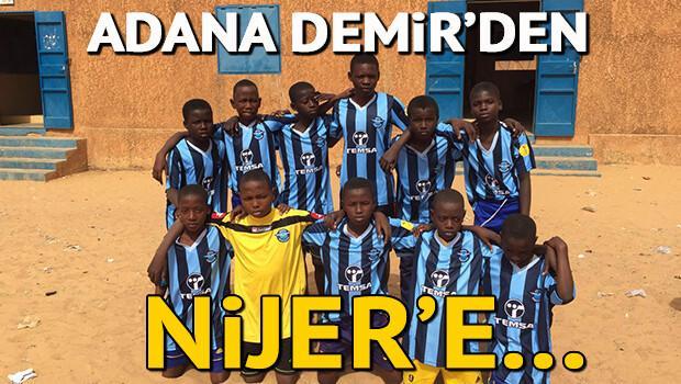 Adana Demirspor'dan Nijerli yetimlere destek