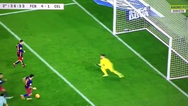 Nou Camp'ta tarihi penaltı!