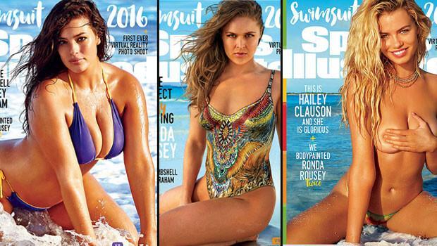 Sports Illustrated'a üç ayrı kapak kızı
