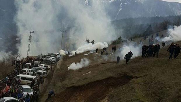 Artvin Cerattepe'de gerginlik artıyor: İlk müdahale yapıldı