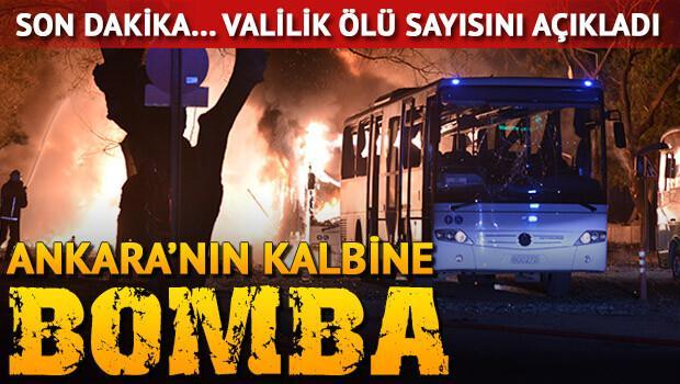 Ankarada TERROR-5 ölü-YENİLƏNİR (FOTOLAR)