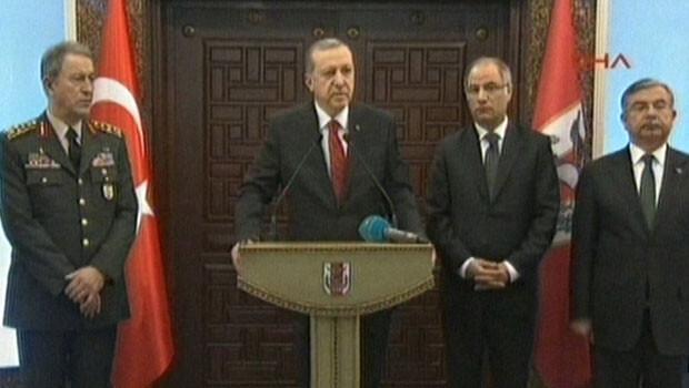 Cumhurba�kan� Erdo�an'dan Ankara sald�r�s� a��klamas�