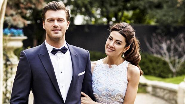 Kıvanç Tatlıtuğ Paris'te Başak Dizer'le evlendi