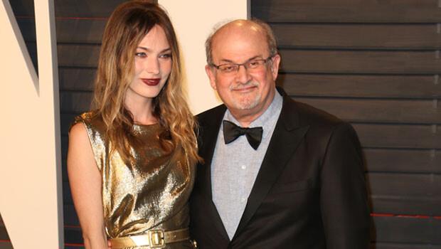Yazar Salman Rüşdi'nin misafiri bütün dikkatleri üzerinde topladı