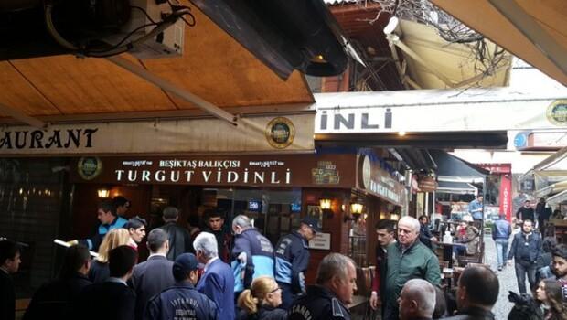 Beşiktaşta kadınlara toplu dayak olayının geçtiği Turgut Vidinli mühürlendi