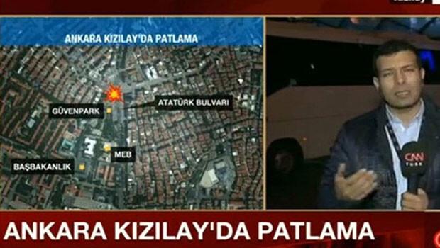 CNN Türk muhabirinden canlı yayında acı sözler: Gördüklerimi size anlatamam