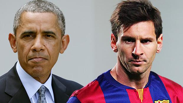 Obama'dan Messi'ye sitem