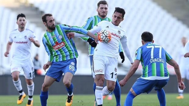 Beşiktaş 3-0 Çaykur Rizespor