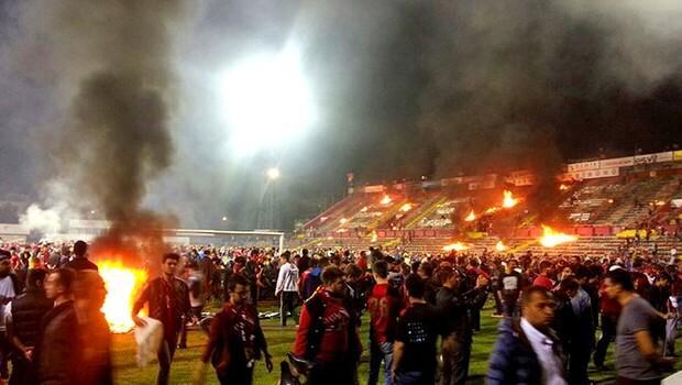 Maç bitti Eskişehir karıştı