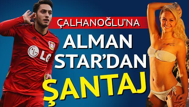 Hakan Çalhanoğlu'na 250 bin Euro'luk şantaj!