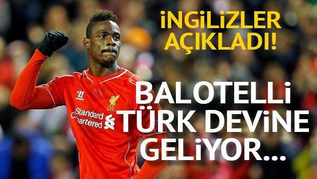 Flaş iddia: Balotelli Türkiye'ye geliyor